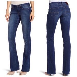 Lucky Brand Sofia Bootcut Flared Jeans Blue 8 / 29